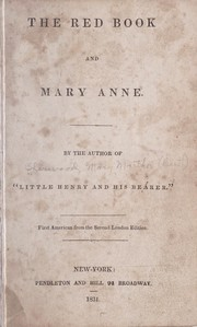 Cover of: The red book, and Mary Anne