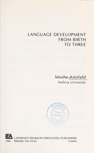 Language development from birth to three