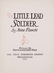 Cover of: The little lead soldier