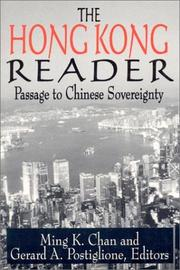 Cover of: The Hong Kong Reader: Passage to Chinese Sovereignty  |