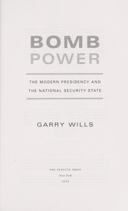 Cover of: Bomb power