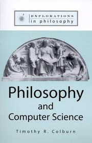 Philosophy and Computer Science (Explorations in Philosophy)