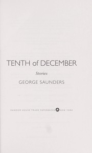 Cover of: Tenth of december