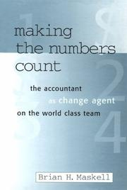 Cover of: Making the numbers count