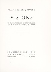 Cover of: Visions