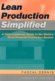 Cover of: Lean Production Simplified