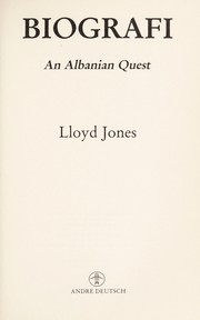 Cover of: Biografi | Jones, Lloyd