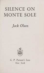 Cover of: Silence on Monte Sole. | Jack Olsen