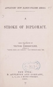 Cover of: A stroke of diplomacy