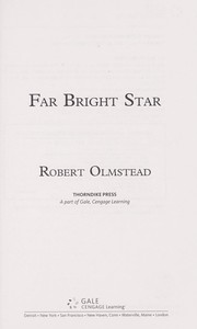Cover of: Far bright star | Robert Olmstead