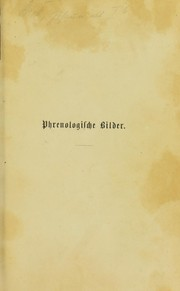 Cover of: Phrenologische Bilder