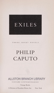 Cover of: Exiles : three short novels |