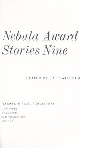 Nebula Award Stories 9