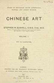 Cover of: Chinese art