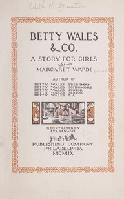 Cover of: Betty Wales & co | Margaret Warde