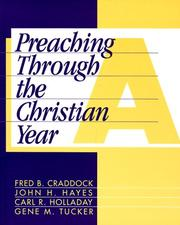 Cover of: Preaching through the Christian year