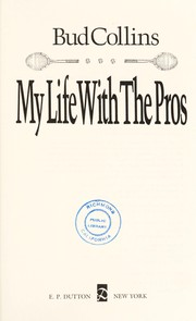 Cover of: My life with the pros
