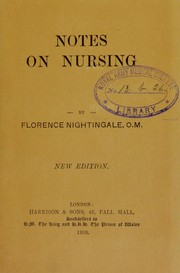 Cover of: Notes on nursing