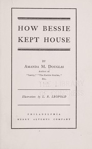 How Bessie kept house