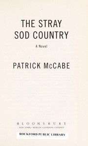 Cover of: The stray sod country | Patrick McCabe