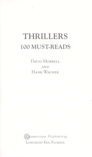 Cover of: Thrillers