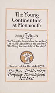 Cover of: The young Continentals at Monmouth