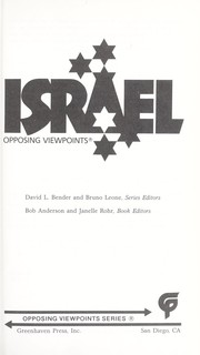 Cover of: Israel |