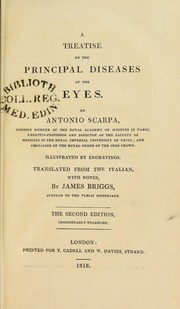 Cover of: A treatise on the principal diseases of the eyes