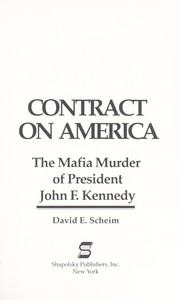 Contract on America by David E. Scheim