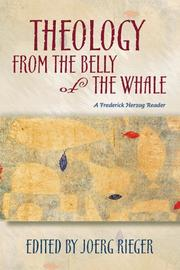 Cover of: Theology from the belly of the whale