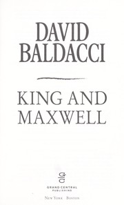 Cover of: King and Maxwell