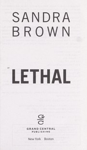 Cover of: Lethal | Sandra Brown