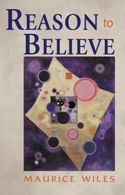 Cover of: Reason to Believe | Maurice Wiles