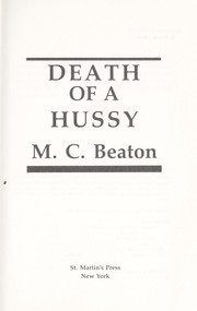 Cover of: Death of a Hussy | M. C. Beaton
