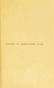 Cover of: Studies in laboratory work | C. W. Daniels