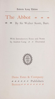 Cover of: The abbot | Walter Scott