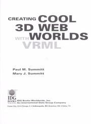 Cover of: Creating cool 3D Web worlds with VRML