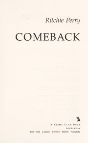 Cover of: Comeback | Ritchie Perry