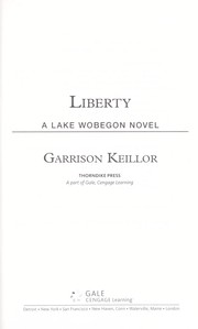 Cover of: Liberty: a Lake Wobegon novel