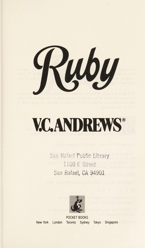 Ruby by V. C. Andrews