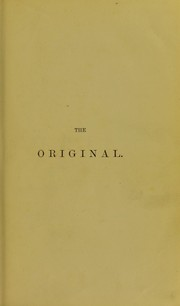 Cover of: The original