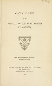 Cover of: Catalogue | National Museum of Antiquities of Scotland