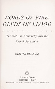 Cover of: Words of fire, deeds of blood