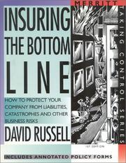 Cover of: Insuring the bottom line