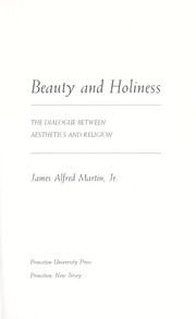 Cover of: Beauty and holiness