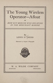 The young wireless operator--afloat