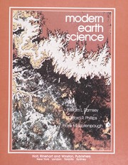 Cover of: Modern earth science