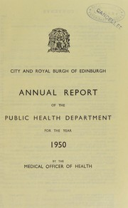 Cover of: [Report 1950]