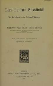 Cover of: Life by the seashore | Marion I. Newbigin