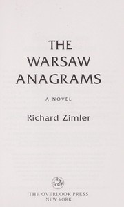 Cover of: The Warsaw anagrams